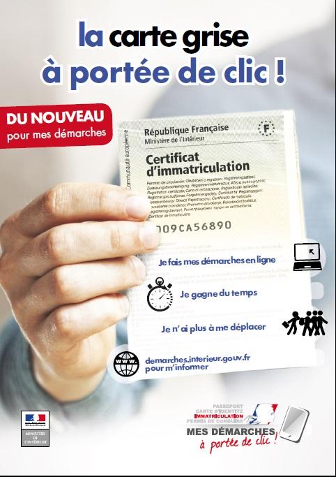 Coût Du Certificat D Immatriculation Ex Carte Grise